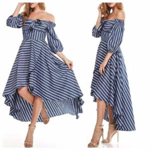 Dresses & Skirts - Hi-Lo Wrap Dress